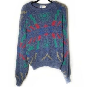 Vintage Cozy Hipster Tribal Design Sweater